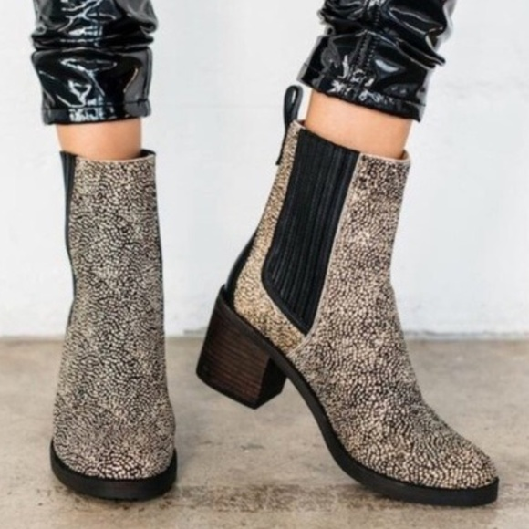 473820a8481 UGG Camden Exotic Calf Hair Ankle Boots A5